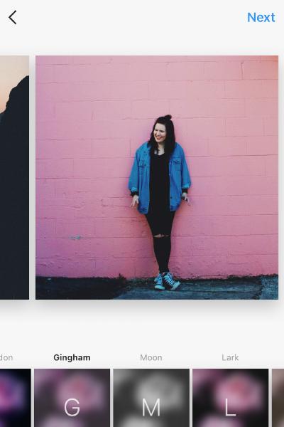 how to use instagram album