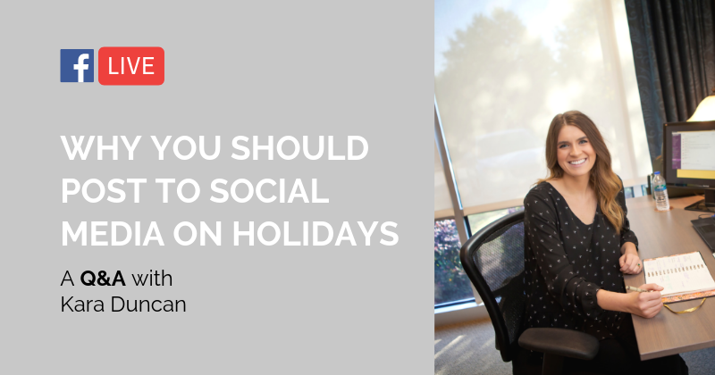 Pipeline LIVE | Why You Should Post to Social Media on Holidays