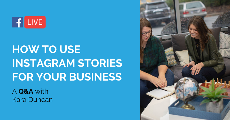 Pipeline Live Instagram Stories for business