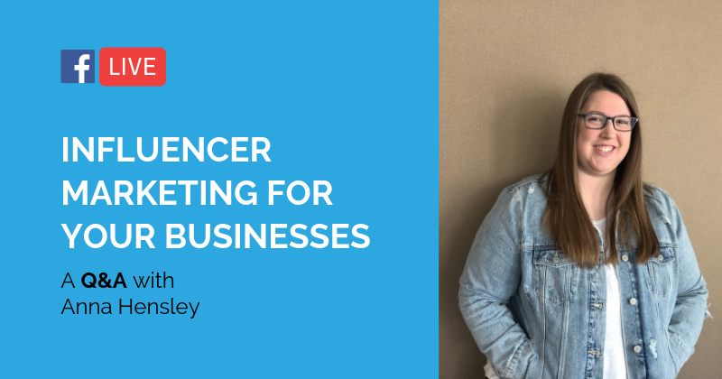 Pipeline LIVE | Influencer Marketing and how your business can invest in it.