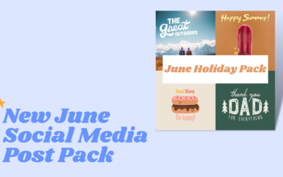 June Holiday Post Pack Now Available!