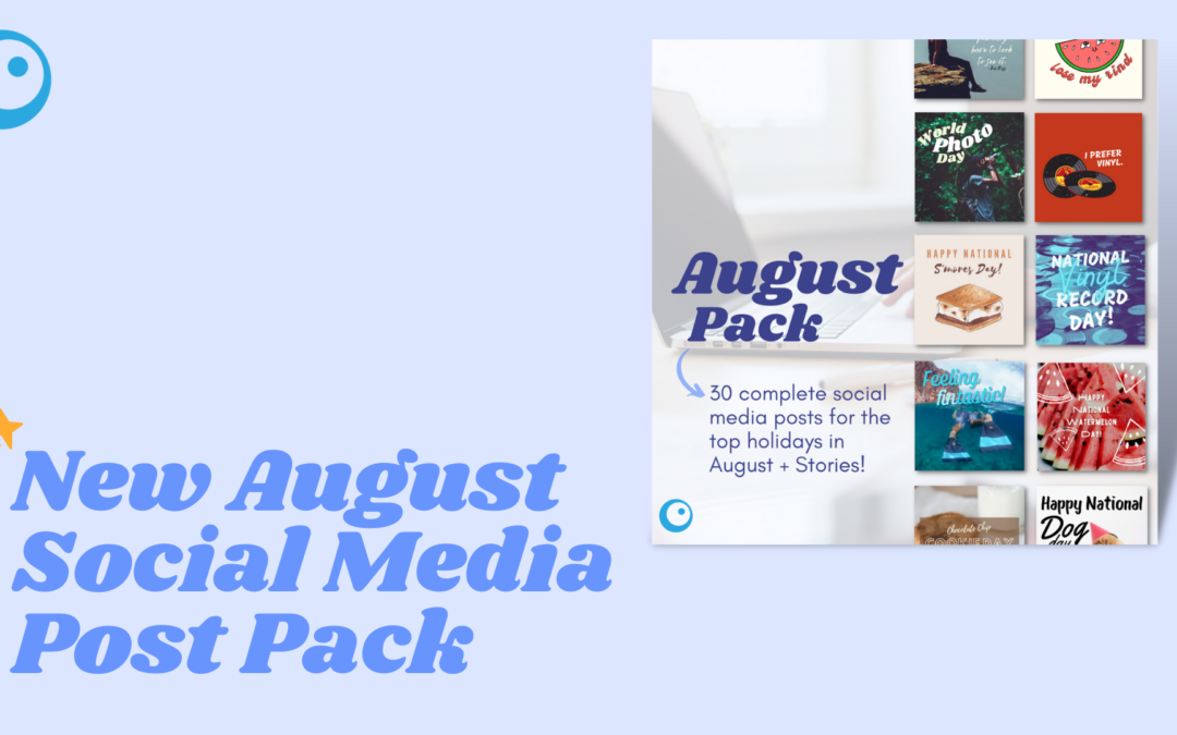 August Holiday Post Pack Now Available!