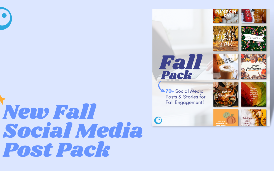 Introducing our Fall Social Media Post Pack!